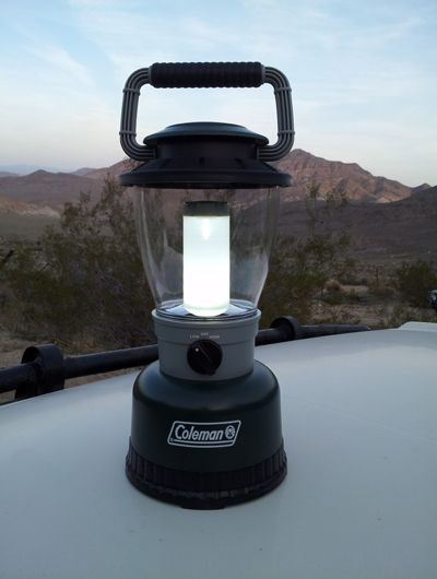 Coleman Rugged Rechargeable Lantern Review Pictures