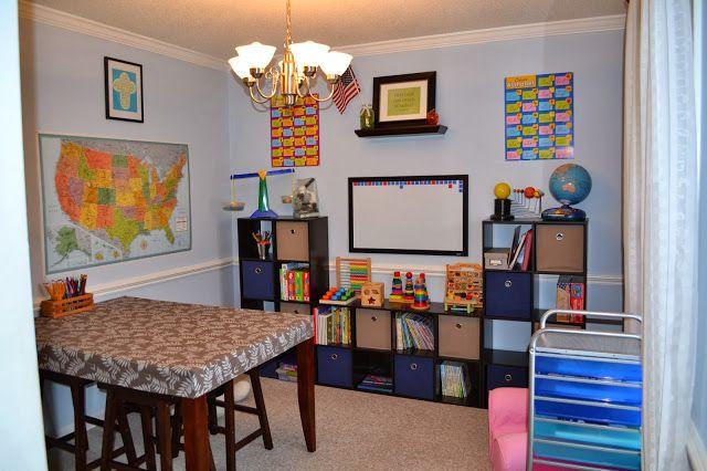 Our Small Homeschool Room Homeschooling Pinterest