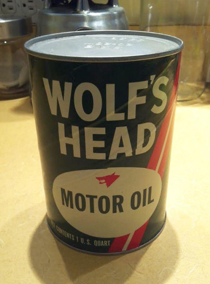 Wolf 39 S Head Motor Oil My Vintage Packaging Pinterest