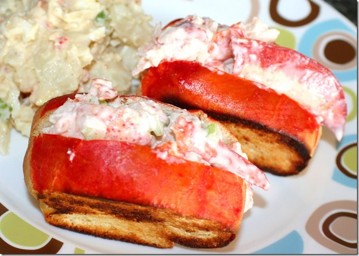 Wicked Good New England Lobster Roll | Favorite Recipes | Pinterest