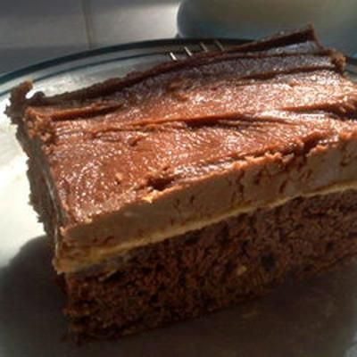 Peanut Butter Fudge Cake | P&B and Chocolate | Pinterest