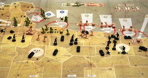 d-day invasion board game
