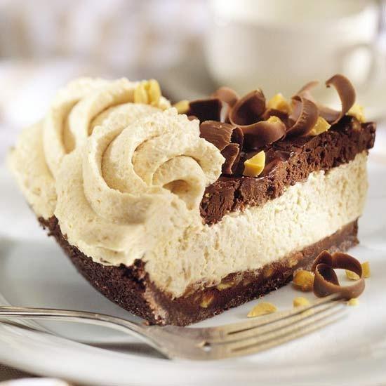 Chocolate-Peanut Butter Mousse Tart Recipe — Dishmaps
