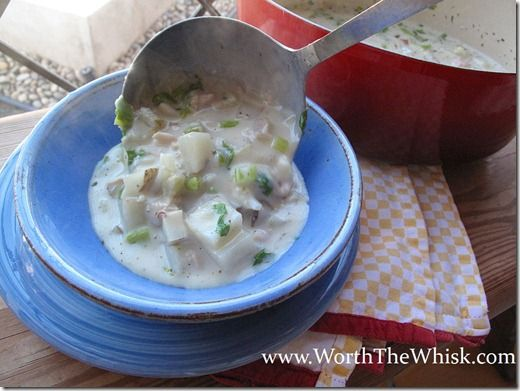Easy Clam Chowder. | Food-Soups and stews | Pinterest