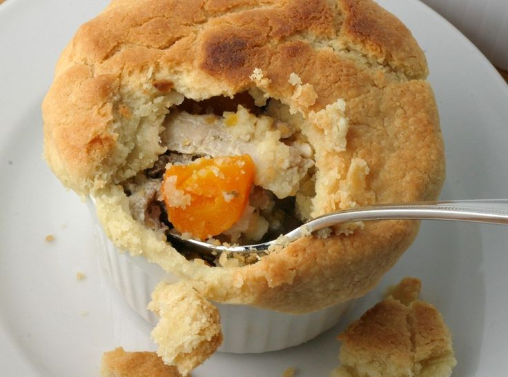 Chicken Pot Pie. Amazing!!! I ended up making a thick rough and ...