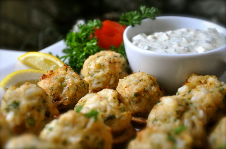 Mini Crab Cakes | Appetizers | Pinterest
