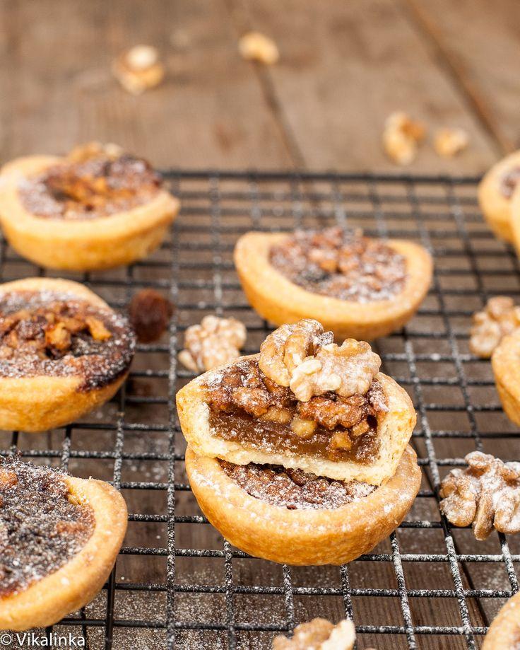 Maple Butter Tarts #pastry #pie #Christmas @Julia Frey |{Vikalinka}