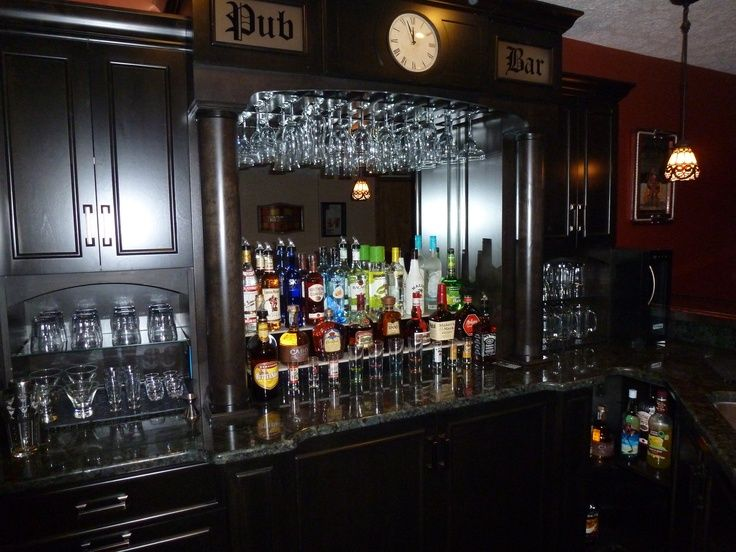 basement irish bar ideas pictures via lillie stahl