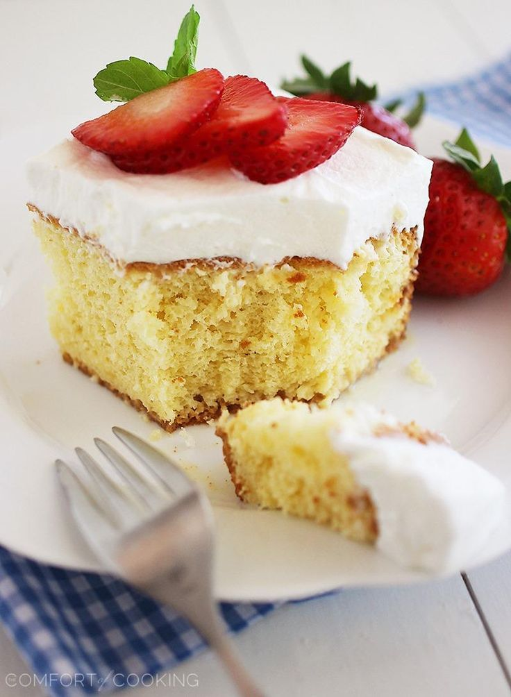 Tres Leches Cake Recipe — Dishmaps