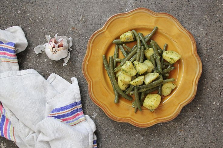 Potato Salad With Green Beans And Ricotta Recipes — Dishmaps