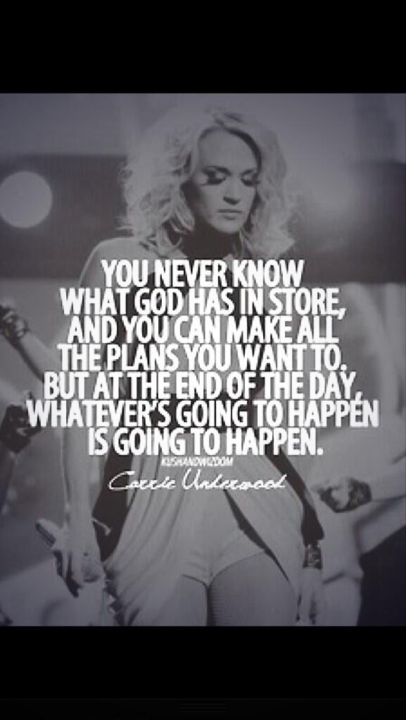 carrie underwood quotes about god - photo #8