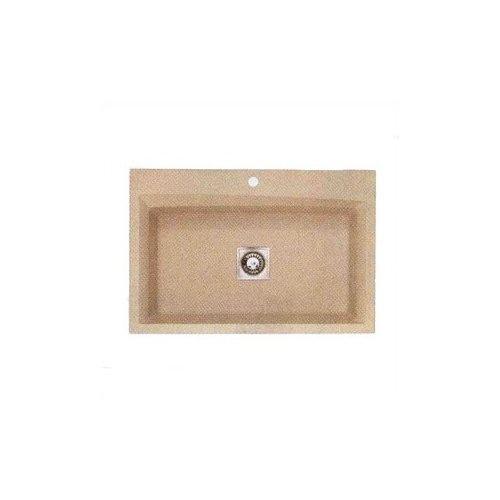 Pegasus 35 x 24 Granite Large Single Bowl Kitchen Sink