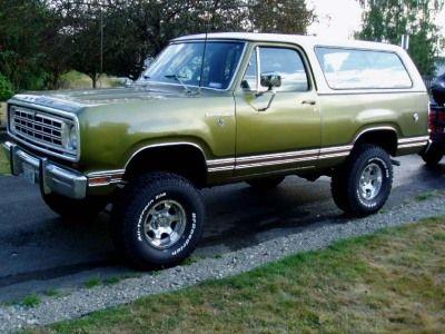 1975 Dodge Ramcharger Trucks Pinterest