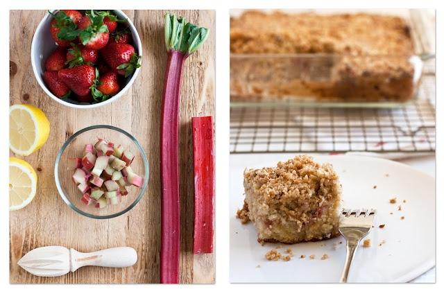 Rhubarb square. | Cooking - Gluten Free | Pinterest