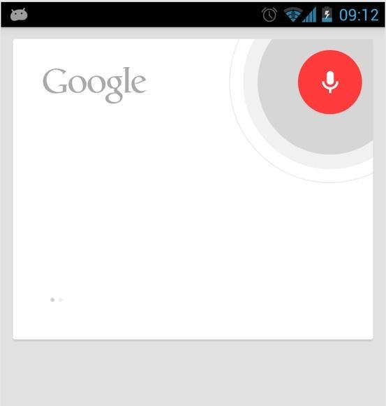 google voice search user interface design pinterest