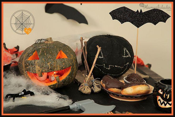 C mo hacer calabazas de halloween manualidades para - Como hacer calabaza halloween ...
