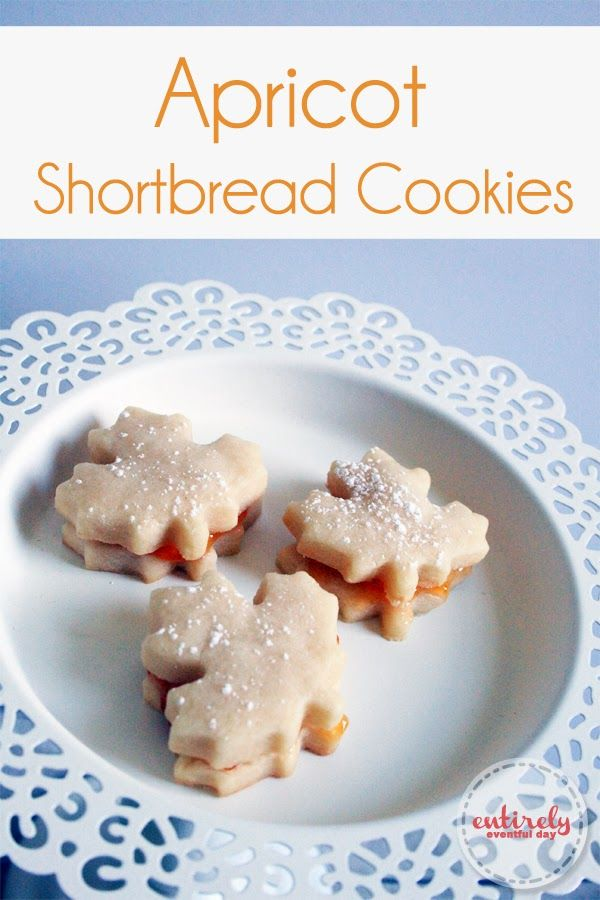 Apricot shortbread cookies. These are seriously amazing. www ...