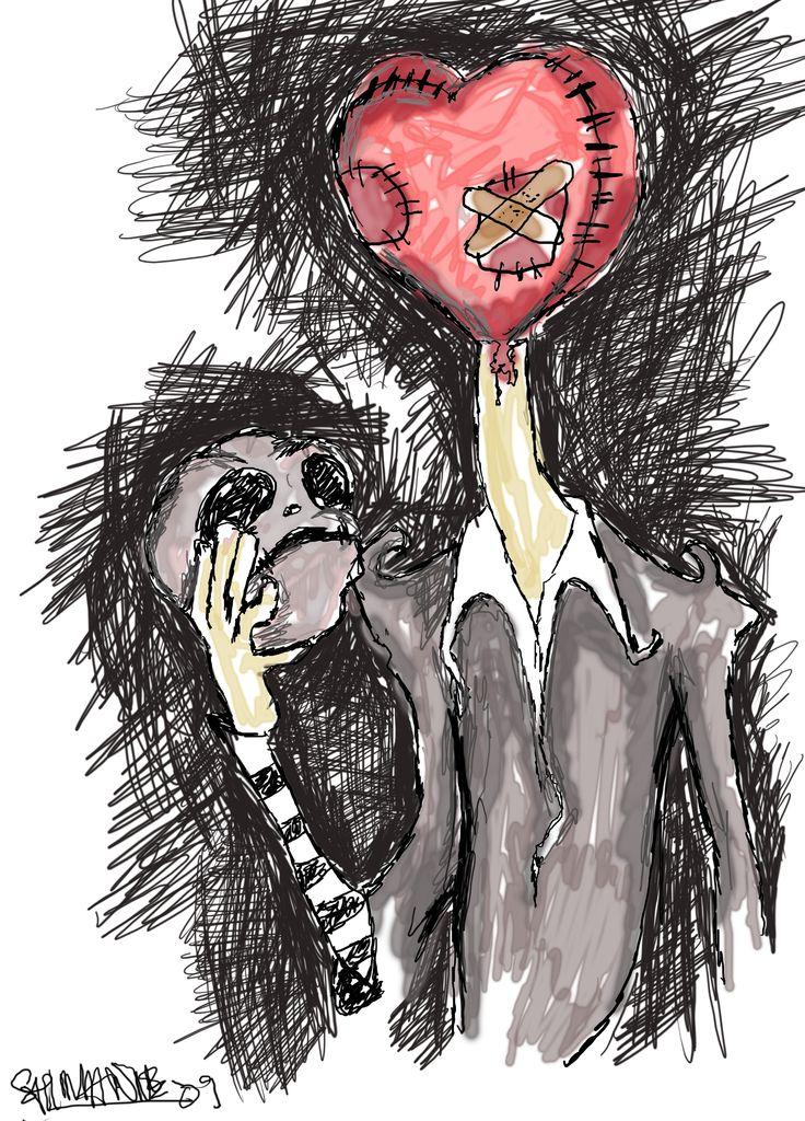 Tim Burton Sketch