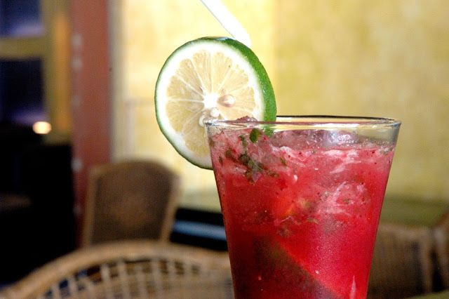 Agave Mexican Cantina: Strawberry Mojito | Recipes | Pinterest