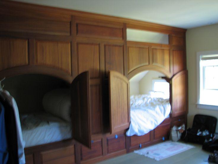 CHERRY CUPBOARD BEDS   BUNK BEDSCUPBOARD BEDS   Pinterest