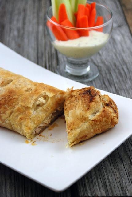 Buffalo Chicken Stromboli - Katie's Cucina | Katie's Cucina