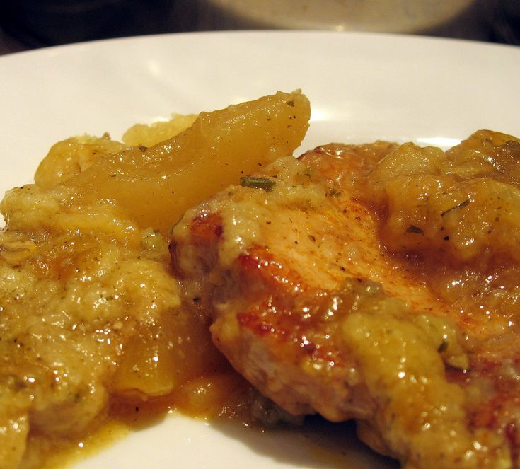 Pork Chops and Apple Sauce - sounds like a great recipe to use Duncan ...