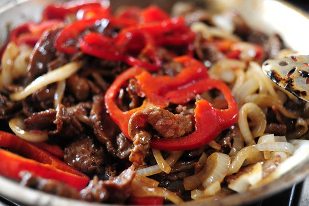 Beef with Peppers | The Pioneer Woman Cooks | Ree Drummond