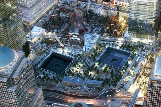 Twin tower memorial site new york new york pinterest