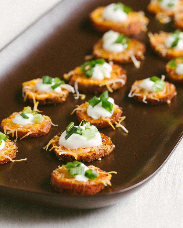 Loaded Sweet Potato Rounds | a Couple Cooks | #recipe #food