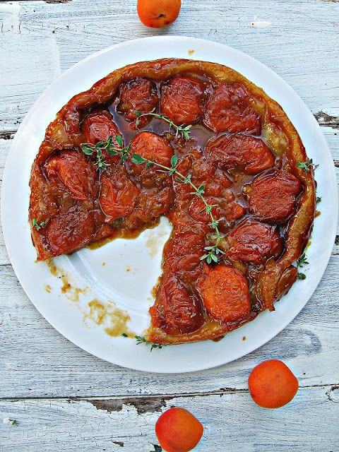 Apricot & Ginger Tarte Tatin | Purple Pie Man & Friends | Pinterest