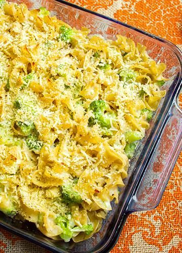 Skinny Baked Mac and Cheese with Broccoli | just a couple of ...