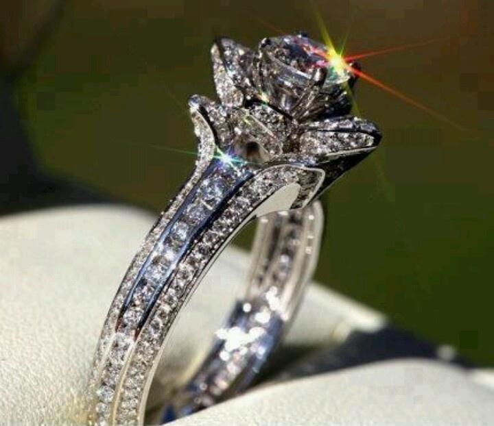 Rose Shaped Ring Dream Wedding Pinterest