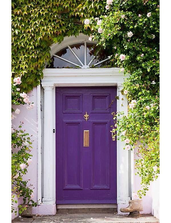 Love The Purple Door The Doors Pinterest