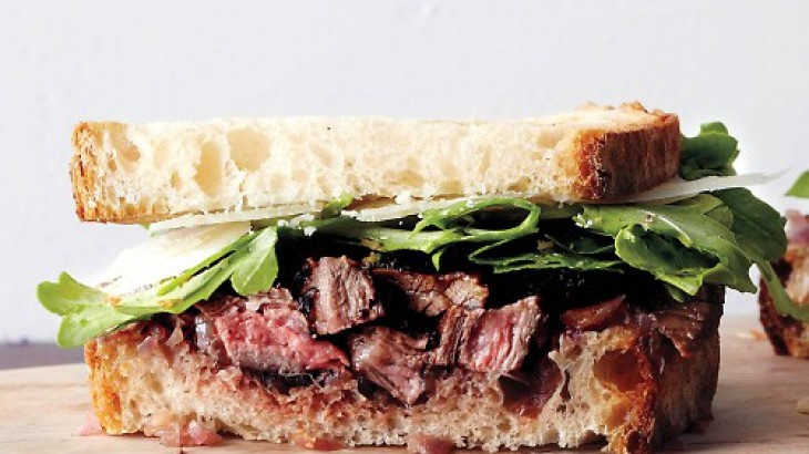 Grilled Steak and Onion Sandwich | Bewitching Sandwiches | Pinterest