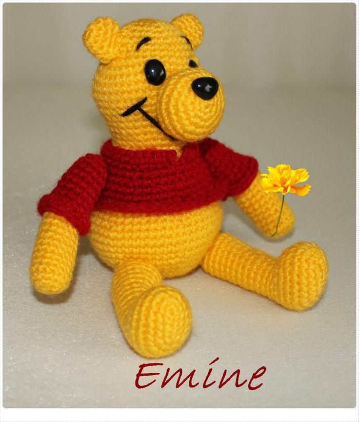 Amigurumi Winnie The Pooh : Winnie the pooh... Amigurumi cizgi Film Karakterleri ...