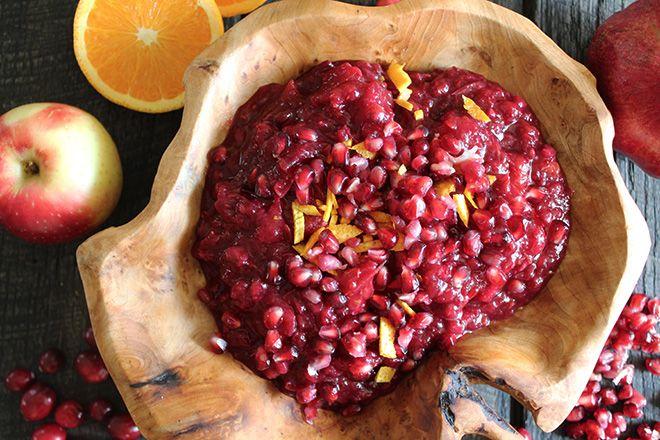 Pomegranate Cranberry Sauce | Mangia | Pinterest