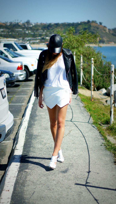 White Skort - Zara http://weworewhat.com/2013/03/so-cal/