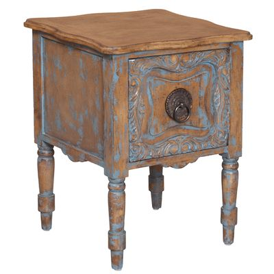 Rustic French Night Stand French Country Chic Furniture Pinterest