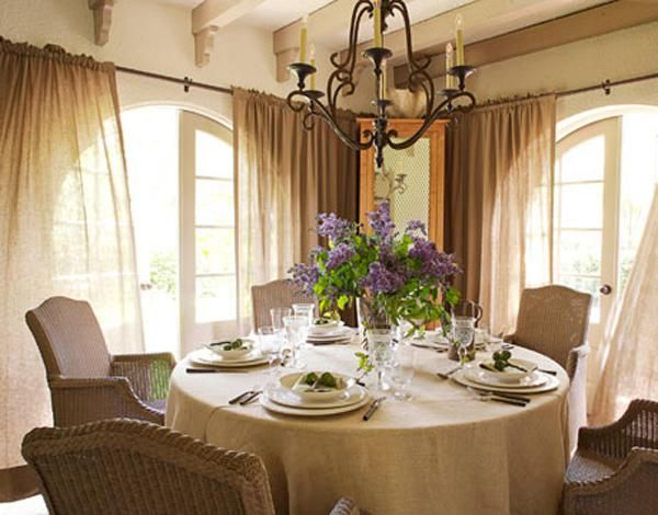 rustic french burlap curtains home pinterest