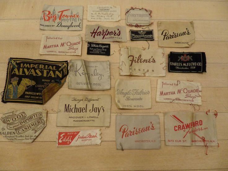 clothing labels design labels