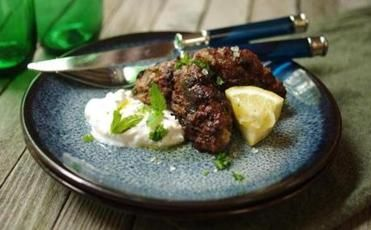 Recipe for kofte with yogurt sauce - The Boston Globe