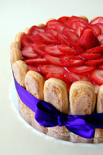Strawberry Charlotte | Strawberry Fields Forever | Pinterest