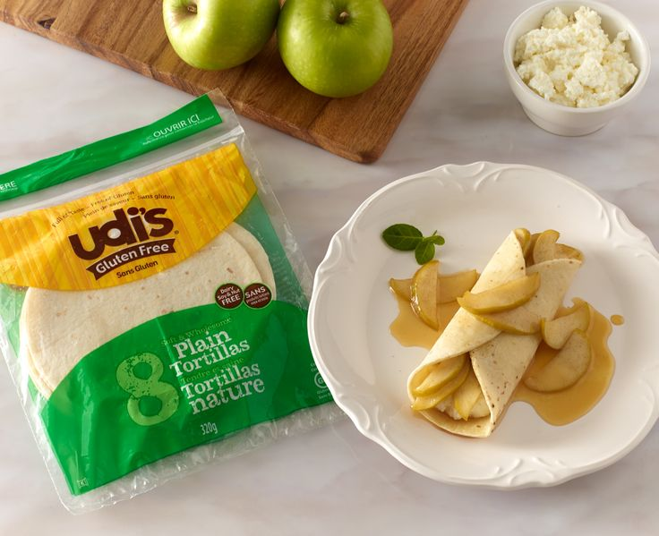 #GF Caramelized Apple Ricotta Mexican Crepe - The perfect balance of savory and sweet makes this a flawless ending to your #Valentine's Day dinner!