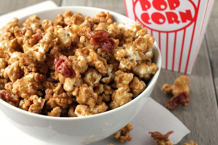 Bacon Bourbon Caramel Popcorn | Recipe