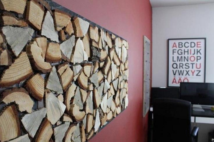 Fire Wood Wall Art Art Pinterest