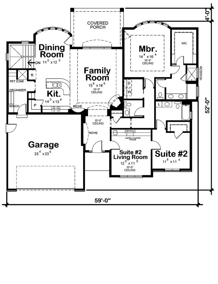 Home Plans For Empty Nesters