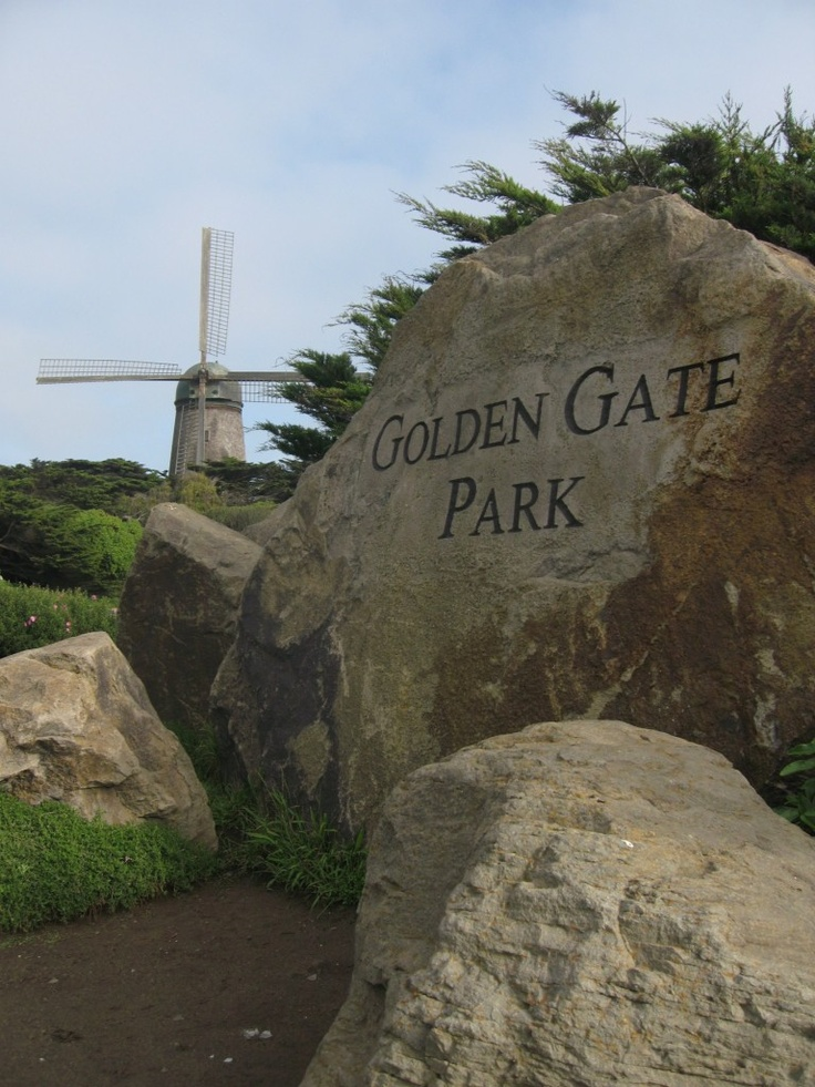 Golden Gate Park Windmill Travel And My Favorite Places