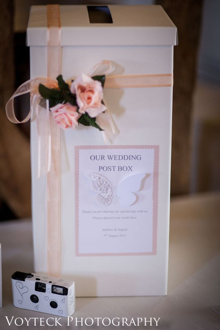 Guest box wedding