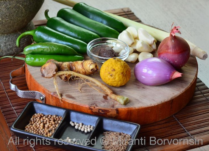 Authentic Thai Green Curry Paste | Recipes: tried, true and delicious ...