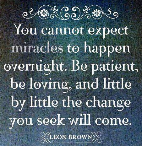 Miracles quote via Carol's Country Sunshine on Facebook